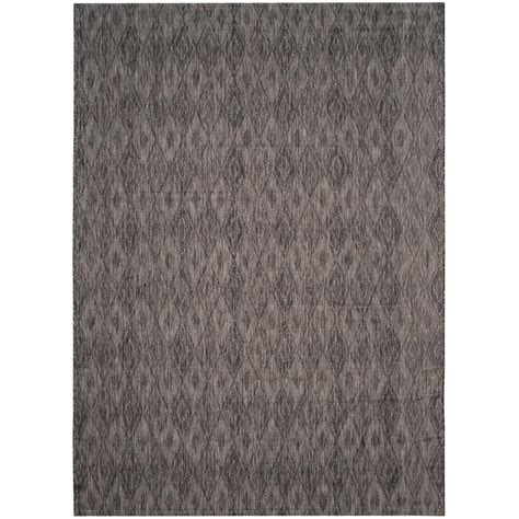 Black Indoor Outdoor Rug Safavieh Courtyard Black 8 Ft X 11 Ft Indoor Outdoor Area Rug Cy8522 36622 8 The Home Depot