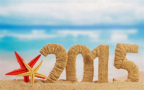 new years 2015 vacation time nieuwjaarswensen 2015 strand kerstwensen