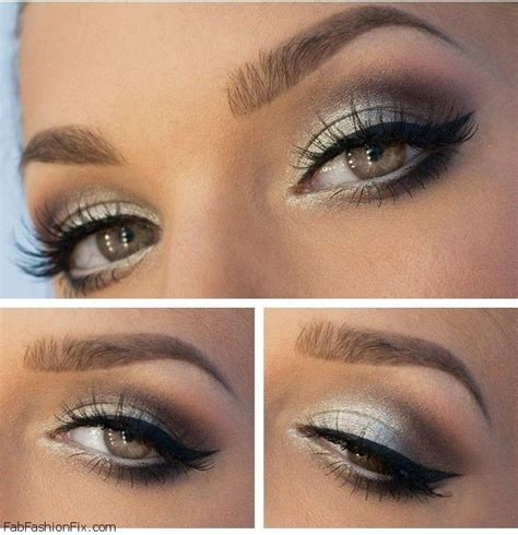 tutorial eyeliner silver how to do silver smokey eye makeup tutorial fab fashion fix