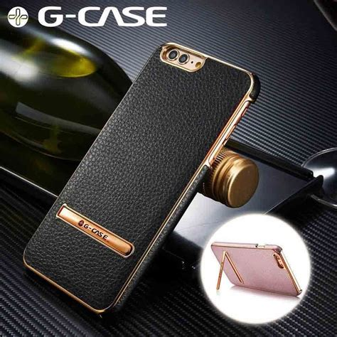 g iphone 7 g 174 apple iphone 7 plus ultra thin leather with electroplating inbuilt click metal stand