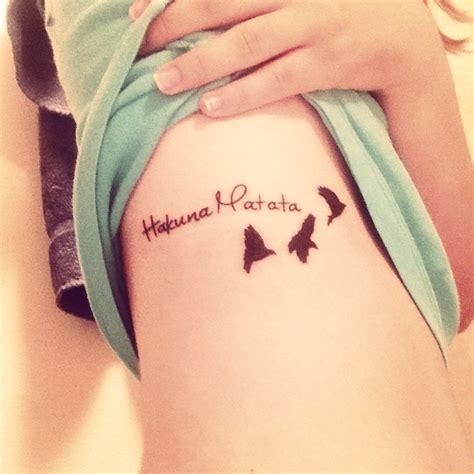 pretty tattoo quotes tumblr hakuna matata risorseonline