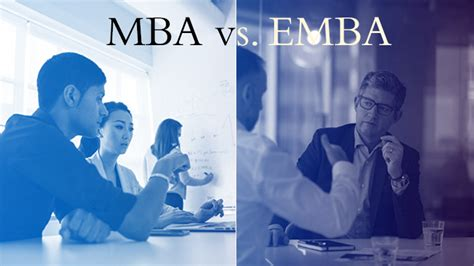 Difference Between An Mba And A Pmba by Difference Between Mba And Executive Mba November 15 2017
