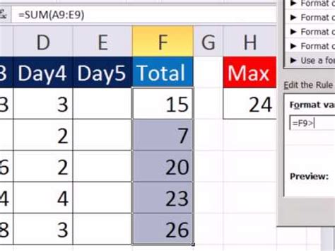 excel format hours over 24 excel magic trick 850 conditional format more than 24