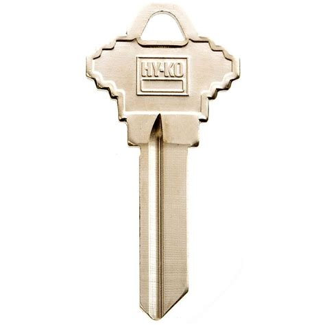 hy ko blank national cabinet lock key 11010na12 the home