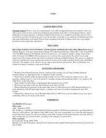 Job Resume Career Objective by Resume Career Objectives Sales