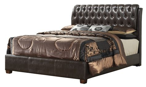 gemini in bed gemini full bed in cherry glory furniture g1550c fb up