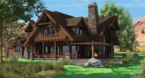 alpine designs timber frame homes flat iron chalet log home plan