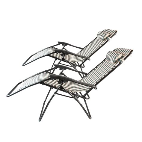 zero gravity beach recliner 2 stripe zero gravity folding lounge chairs recliner outdoor beach patio pool ebay