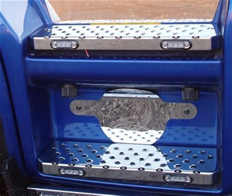 pedane per batteria kit pedane salita batteria in acciaio inox scania