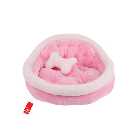 pink dog beds snooze dog bed by puppia pink baxterboo