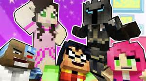 Titans prank popularmmos and gaming with jen minecraft roleplay