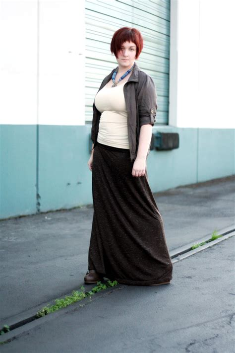 Buckled Tank Top post maxi skirt with buckled boots