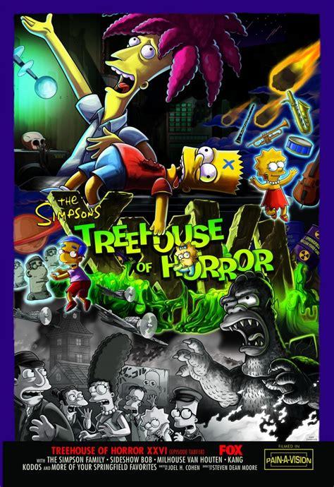 treehouse of horror xxi episode treehouse of horror xxvi simpsons wiki fandom powered