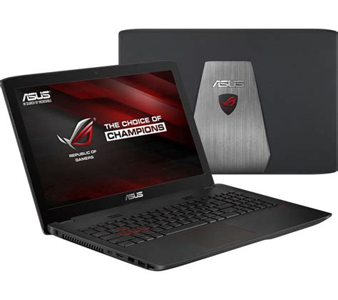 Asus Gaming Laptop Buy buy asus republic of gamers gl552vw 15 6 quot gaming laptop black free delivery currys