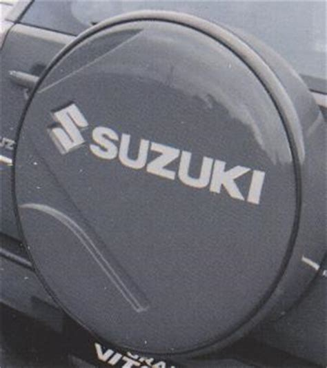 Spare Wheel Cover Suzuki Grand Vitara Grand Vitara Genuine Accessories Exterior