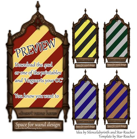 hogwarts your oc includes printables by star reacher on