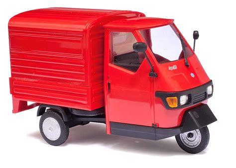 Auto Tuning Viernheim by Piaggio Ape 50 Rot M 1 43 Lieferwagen Lkws Katalog