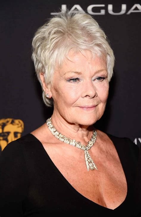 how to cut judi dench hair our favourite pixie hairstyles of all time