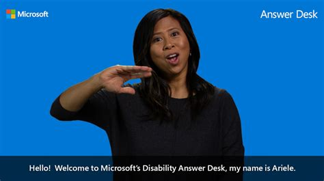 microsoft disability answer desk microsoft disability answer desk now has sign