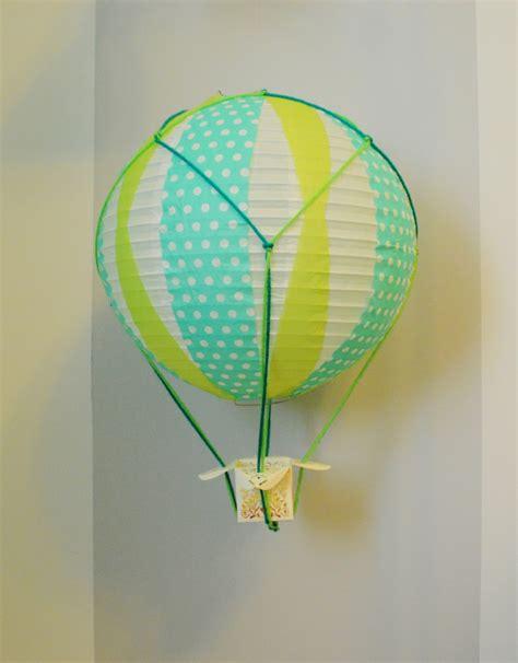 Handmade Air Balloon - diy miniature air balloons loving here