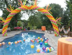 House Decorating Games For Adults summer pool party cinco de mayo pink orange yellow