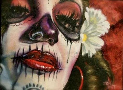 tattoo nightmares holy hank 1870 best day of the dead images on pinterest