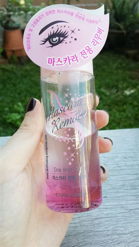 One Shoot Mascara Remover etude house one clean mascara remover skinfrosting