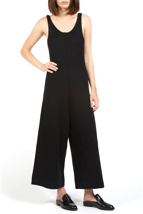 knit jumpsuit hache knit jumpsuit from california by allora by
