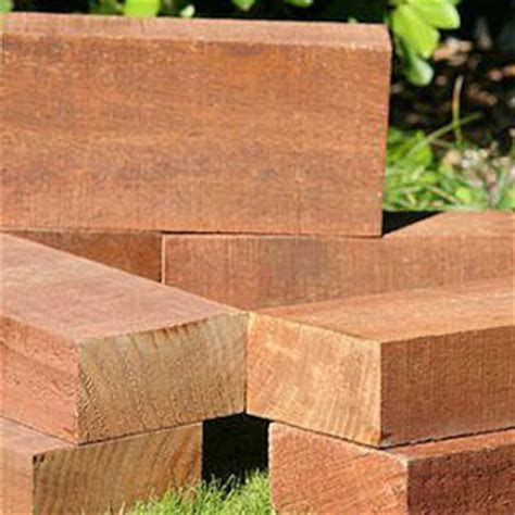 copper azole treated trustwood sleepers