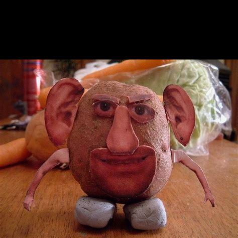 potato face funnies potatoes food carving potato face
