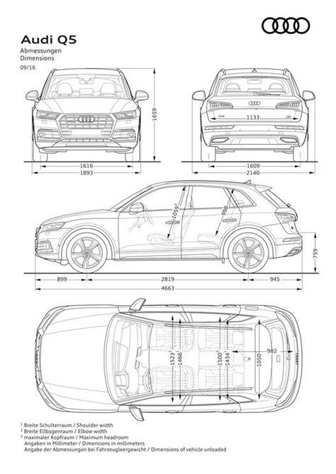 Audi Q5 Gewicht by Audi Q5 2 0 Tfsi 2016 Autokatalog Ma 223 E Und Gewichte