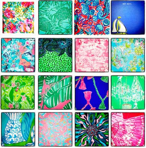 lilly pulitzer flower pattern name can you name all the lilly pulitzer prints pictured