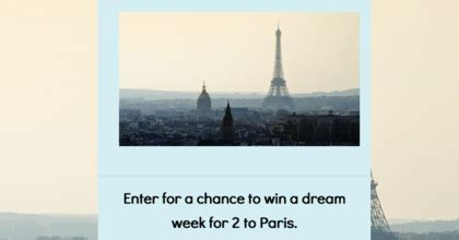 Paris Sweepstakes 2016 - atout france lance paris sweepstakes sun sweeps