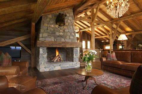 ski lodge fireplace infinity lodge in chamonix by skiboutique