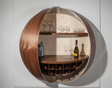buy wall mounted bar cabinet a wall mounted bar cabinet inspired by a spinning coin
