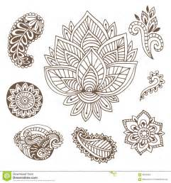 indian ornaments indian ornaments collection vector