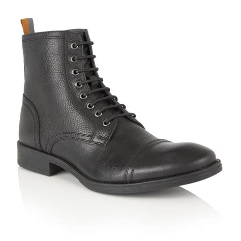 buy s frank wright marris black leather ankle boot