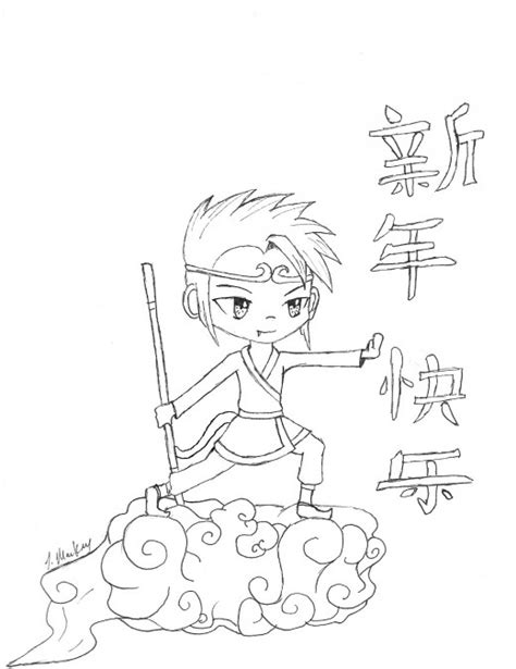 chinese year of the monkey coloring page kid crafts for year of the monkey chinese new year art