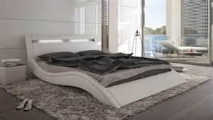 lit design 224 led blanc mod 233 na 180x200 cm
