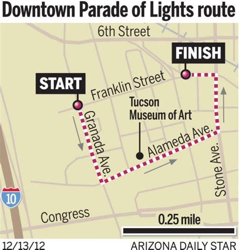 parade of lights tucson festival of lights kicks off tonight at winterhaven