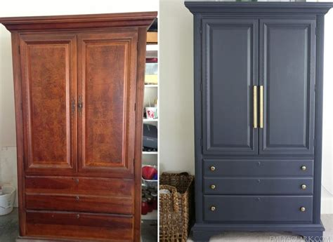 Wardrobe Painted by Best 25 Wardrobe Makeover Ideas On Vintage