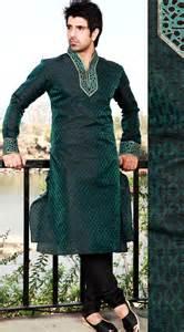 Kurta Colors by Men Kurta Designs In Green Color Gents Kurta Collection 2013