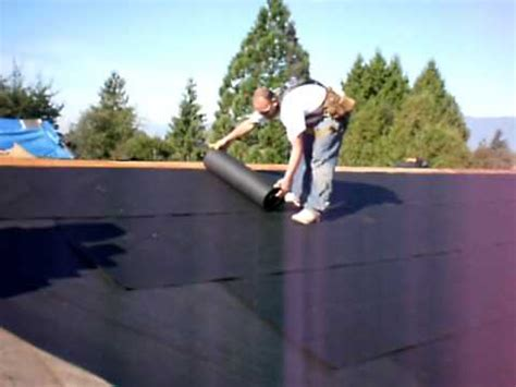 tar paper  shingle roof valley section youtube