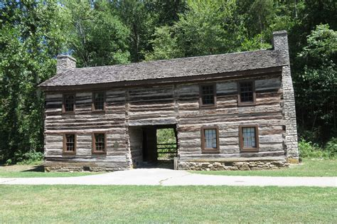 2 Story Log Cabin by Material Possessions Then And Now Housesandbooks