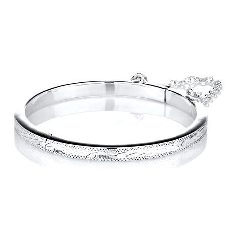 baby bangle bracelets white gold jewelry flatheadlake3on3