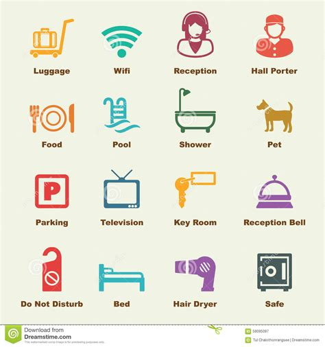 Toaster Animation Hotel Service Elements Stock Vector Image 58095087