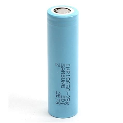 Samsung Inr 18650 25r Li Ion Battery 2500mah 3 7v With Flat Top Samsung Inr 18650 25r Li Ion Battery 2500mah 3 7v With Flat Top Blue Jakartanotebook