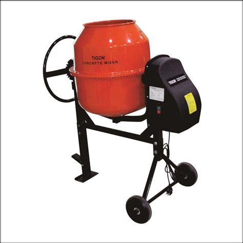 Daftar Mixer Bekas jual concrete mixer electric tigon tg cm 180 e harga