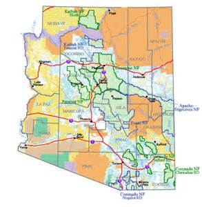 buy and find arizona maps forest service statewide index
