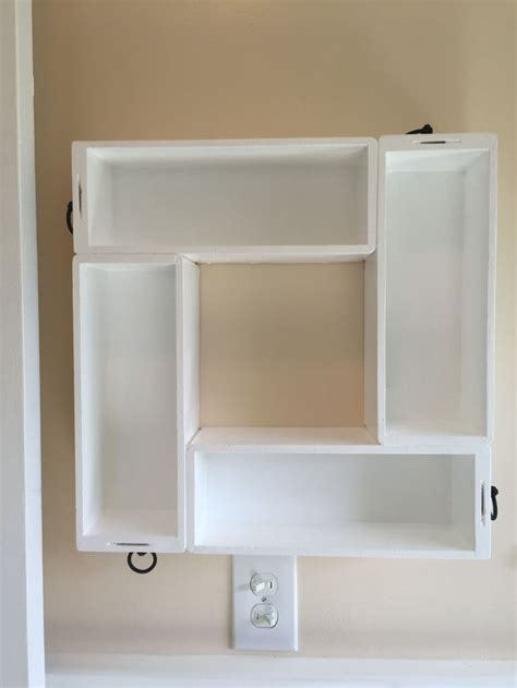 armoire with shelves and drawers old sewing machine cabinet drawers up cycled to bathroom